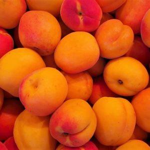 Confiture d'abricots-vanille