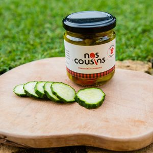 Pickles de concombres croquants
