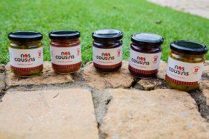 Nos cousins produit des pickles et confitures dans le Rhône qui privilégie le circuit court et le respect des acteurs de la filière agricole.
